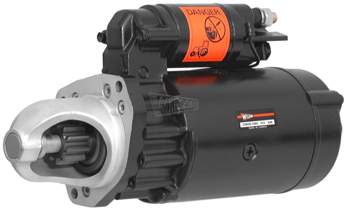 New Wilson Starter replacement for AES NEW 17618N